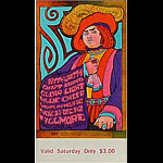 BG # 95 Nitty Gritty Dirt Band Fillmore Saturday ticket BG95