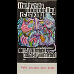 BG # 96 Byrds Fillmore Saturday ticket BG96