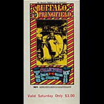 BG # 98 Buffalo Springfield Fillmore Saturday ticket BG98