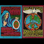 BG # 99/100 Doors Fillmore double postcard BG99/100