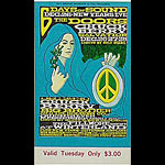 BG # 99 Doors Fillmore Tuesday ticket BG99