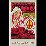 BG # 99 Doors Fillmore Thursday ticket BG99
