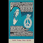 BG # 99 Doors Fillmore Friday ticket BG99