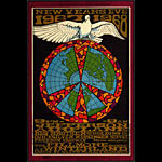 BG # 100-1 Jefferson Airplane Fillmore Poster BG100