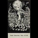 BG # 101 Vanilla Fudge Fillmore Saturday ticket BG101