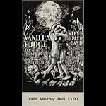 BG # 101 Vanilla Fudge Fillmore Saturday ticket BG101