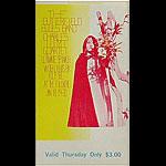 BG # 103 Butterfield Blues Band Fillmore Thursday ticket BG103