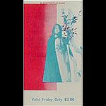 BG # 103 Butterfield Blues Band Fillmore Friday ticket BG103