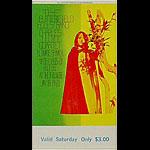 BG # 103 Butterfield Blues Band Fillmore Saturday ticket BG103