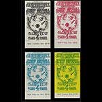 BG # 105 Jimi Hendrix Experience Fillmore ticket set BG105