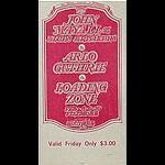 BG # 106 John Mayall & Blues Breakers Fillmore Friday ticket BG106