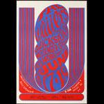 BG # 11-2 Wailers Fillmore Poster BG11