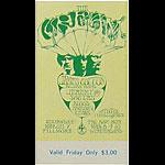 BG # 110 Cream Fillmore Friday ticket BG110