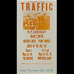 BG # 111 Traffic Fillmore Thursday ticket BG111