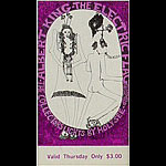 BG # 117 Albert King Fillmore Thursday ticket BG117