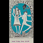 BG # 117 Albert King Fillmore Friday ticket BG117