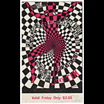 BG # 119 Loading Zone Fillmore Friday ticket BG119