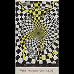 BG # 119 Loading Zone Fillmore Thursday ticket BG119