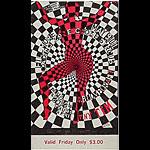 BG # 119 Loading Zone Fillmore Friday ticket BG119