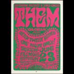 BG # 12-3 Them Fillmore Poster BG12
