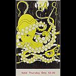 BG # 120 Country Joe and the Fish Fillmore Thursday ticket BG120