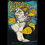 BG # 121-1 Yardbirds Fillmore Poster BG121