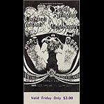 BG # 122 Buffalo Springfield Fillmore Friday ticket BG122