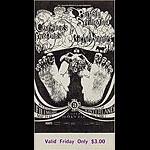 BG # 122 Buffalo Springfield Fillmore Friday ticket BG122