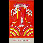 BG # 123 Mothers of Invention Fillmore Friday ticket BG123
