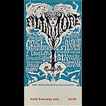 BG # 125 Chambers Brothers Fillmore Saturday ticket BG125