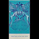 BG # 128 Electric Flag Fillmore Thursday - Sunday ticket BG128