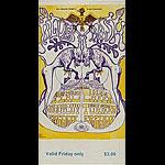 BG # 128 Electric Flag Fillmore Friday ticket BG128