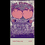 BG # 129 Big Brother & the Holding Co. Fillmore Friday ticket BG129