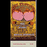 BG # 129 Big Brother & the Holding Co. Fillmore Saturday ticket BG129