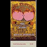 BG # 129 Big Brother & the Holding Co. Fillmore Saturday ticket BG129