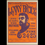 BG # 13-1 Lenny Bruce Fillmore Poster BG13
