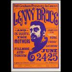BG # 13-4 Lenny Bruce Fillmore Poster BG13
