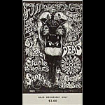 BG # 134 Steppenwolf Fillmore Wednesday ticket BG134