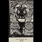 BG # 134 Steppenwolf Fillmore Thursday ticket BG134