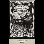 BG # 135 Chuck Berry Fillmore Friday - Sunday ticket BG135