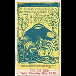 BG # 138 Super Session: Mike Bloomfield - Al Kooper Fillmore Thursday ticket BG138