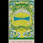 BG # 139 Canned Heat Fillmore Thursday ticket BG139