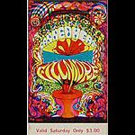 BG # 139 Canned Heat Fillmore Saturday ticket BG139