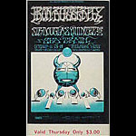 BG # 141 Iron Butterfly Fillmore Thursday ticket BG141