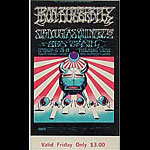 BG # 141 Iron Butterfly Fillmore Friday ticket BG141