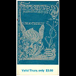 BG # 144 Quicksilver Messenger Service Fillmore Thursday ticket BG144