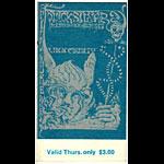 BG # 144 Quicksilver Messenger Service Fillmore Thursday ticket BG144