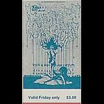 BG # 145 Ten Years After Fillmore Friday ticket BG145