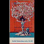 BG # 145 Ten Years After Fillmore Saturday ticket BG145