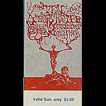 BG # 145 Ten Years After Fillmore Sunday ticket BG145